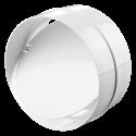 Соединитель круглых каналов с обратным клапаном Ø200