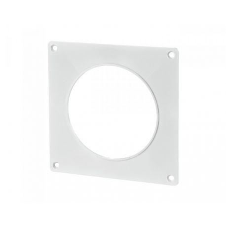 Пластина настенная для круглых каналов Ø125