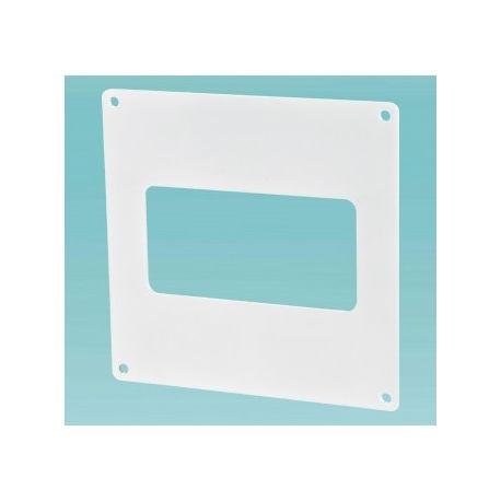 Пластина настенная для плоских каналов 110*55