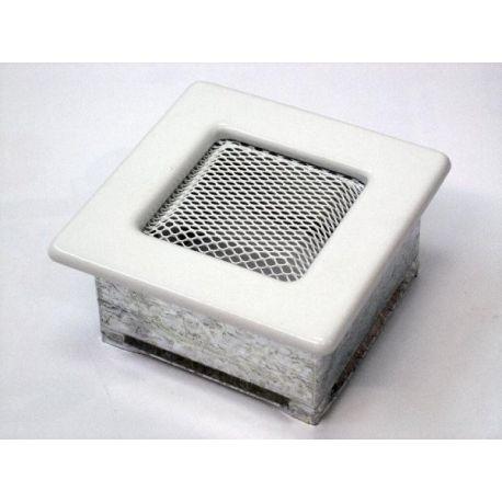 Металлическая Вентиляционная Решетка 11Х11 Белая