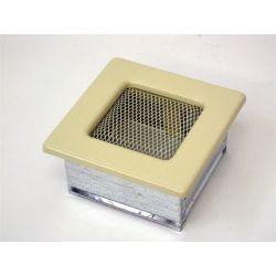 Металлическая Вентиляционная Решетка 11Х11 Бежевая