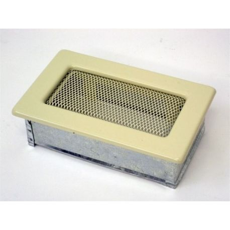Металлическая Вентиляционная Решетка 11Х17 Бежевая