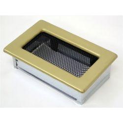 Металлическая Вентиляционная Решетка 11Х17 гальваника под золото