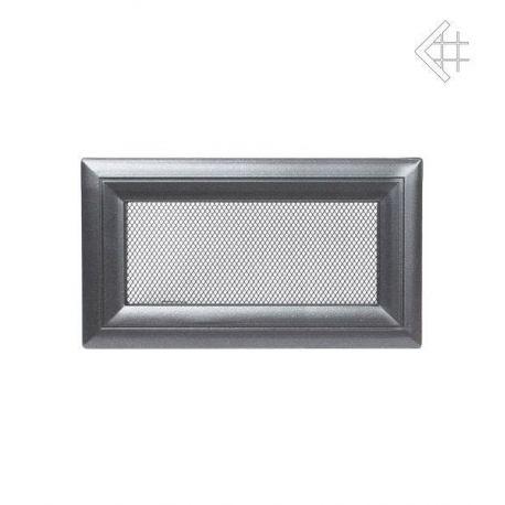 Металлическая Вентиляционная Решетка 11Х17 Оскар графит