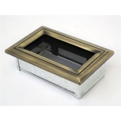 Металлическая Вентиляционная Решетка 11Х17 Оскар латунь