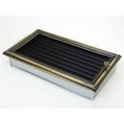 Металлическая Вентиляционная Решетка 17Х30 Рустик  с жалюзи