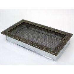 Металлическая Вентиляционная Решетка 17Х30 Черная латунь