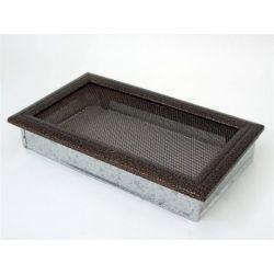 Металлическая Вентиляционная Решетка 17Х30 Черная медь